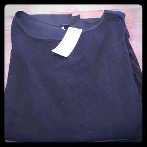Uniqlo women combo short sleeve t-shirt black